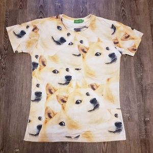 Other - DOGE ALL OVER PRINT SHIRT LARGE VERY MUCH WOW
